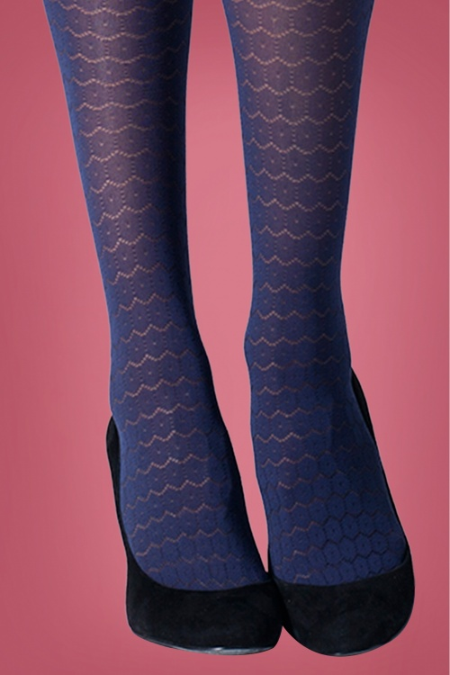 Gipsy 31495 New Circle Tights in Marine 20190819 020L W