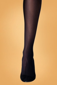 Gipsy 60s Eco Yarn Tights in Black