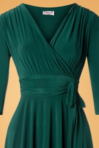 Vintage Chic 31248 Forest Green Dress 20190830 002V