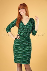 Smashed Lemon 30203 Pencildress Green Blue 2019 040MW