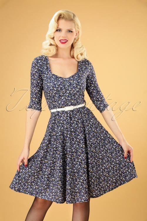 TopVintage Boutique Collection 31194 Flower Dress 20190704 040MW