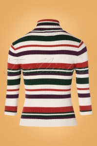 Banned 30617 Sweet Stripe Roll Neck Sweather 20190626 010W