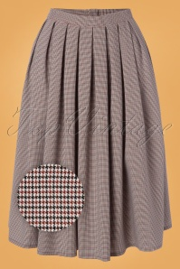 Banned 30582 Pleated Check Skirt 20190626 004Z