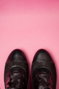 Lulu Hun 30520 Selma Half Boots Black20190902 014 W