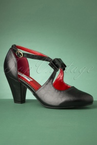 50s Mona High Heels in Black