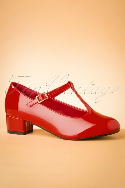 Lulu Hun 30535 Heel Block Chrissi Red 20190902 0011 W