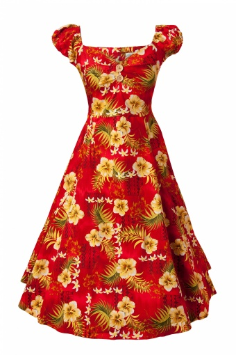 Dolores Doll Hibiscus Red