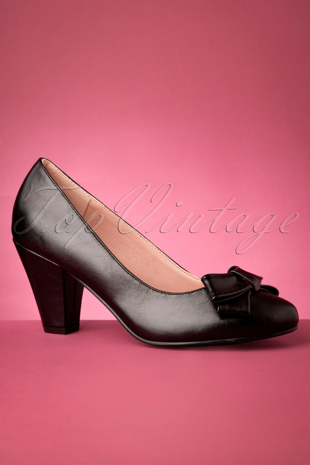 1960s Style Dresses, Clothing, Shoes UK 50s Tracey High Heels in Black £46.34 AT vintagedancer.com