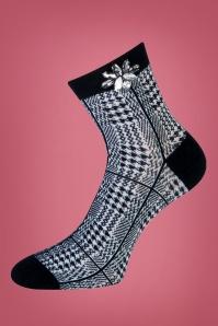 50s Christina Socks in Black