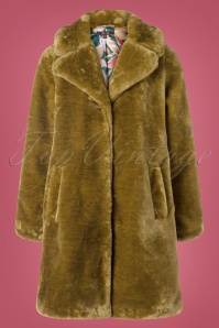 70s Alba Zoot Coat in Amber