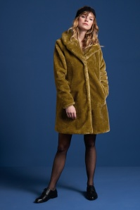 King Louie 29361 Alba Coat Zoot in Amber Green 20190828 020L