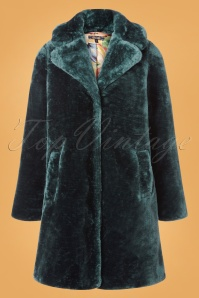 King Louie 70s Alba Zoot Coat in Dragonfly