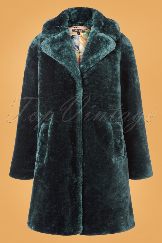 70s Jackets & Hippie Vests, Ponchos 70s Alba Zoot Coat in Dragonfly £115.78 AT vintagedancer.com
