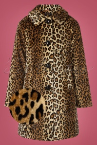 King Louie 29479 Betty Coat in Leopard  20190722 003 z