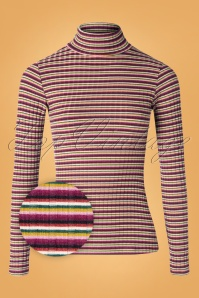 King Louie 29388 Huntley Striped  Rollneck Top  20190729 003Z