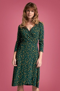 King Louie 29370 Mandy Wrap Dress Picallily in Dragonfly 20190828 020L