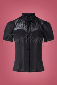Vixen 30924 Top Transparent Dots Black 09042019 005W