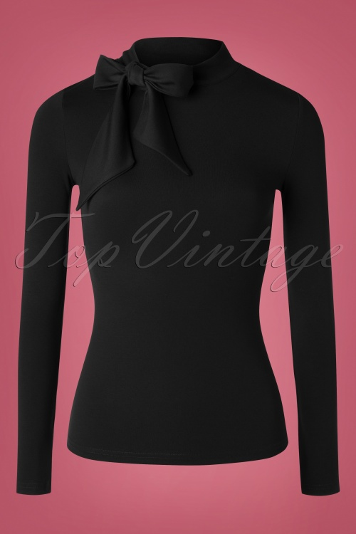 Vixen 30919 Top Tie Black 09042019 002W