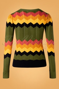 Vixen 30936 Cardigan Gemma Green Multy 09042019 006W