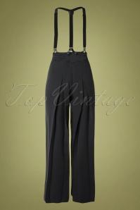 Vixen 30925 Pants 40s Blue Suspenders 09042019 010 W