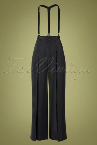 40s Ladies Trousers in Grey