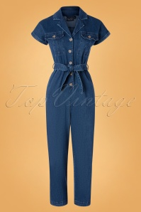 Vixen 30949 Jumpsuit Poppy Denim 09042019 003W