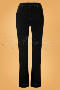 Vixen 30930 Pants Hazel Black Wide 09042019 005W