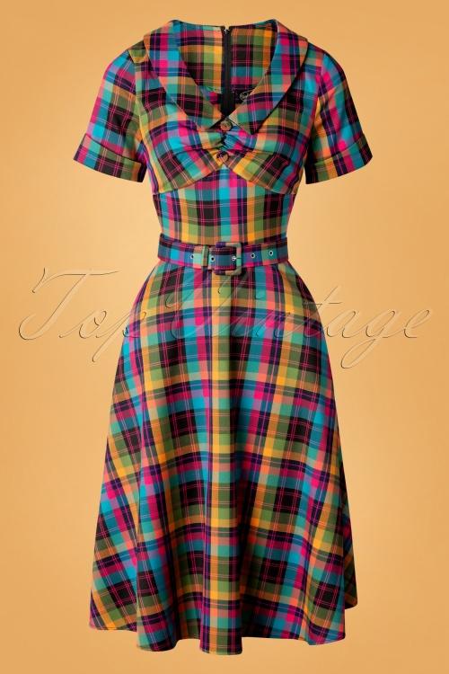 Vixen 30890  Camilla Plaid Dress 20190905 0003W