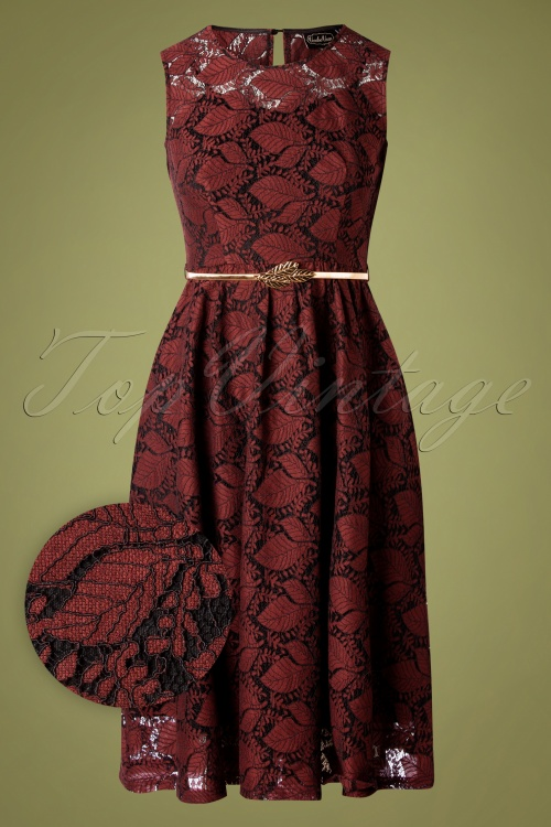 Vixen 30893  Sophia Black Red Dress 20190905 0001W1
