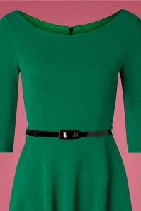 Vintage Chic 31430 Emerald Green Swing Dress 20190906 002 V