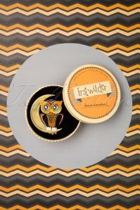 Erstwilder 32097 Brooch Owl Moon Halloween 09102019 000009W
