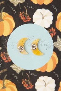 Erstwilder 32099 Earrings Moon Yellow 09102019 000004W
