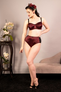 What Katie Did 31544 Obsession Bra in Wine 20190904 020L