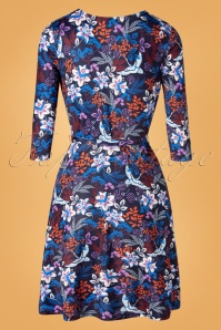 Yumi 29776 Swingdress Blue Floral Autumn 09092019 0009W