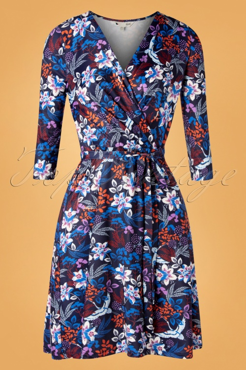Yumi 29776 Swingdress Blue Floral Autumn 09092019 0004W