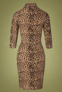 Smashed Lemon 30234 Pencildress Leopardprint Gold 09092019 010W