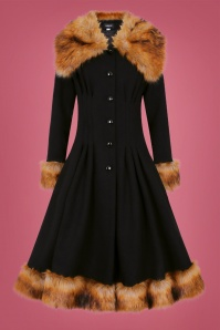 Collectif 29860 Pearl coat in black 20190430 022LW