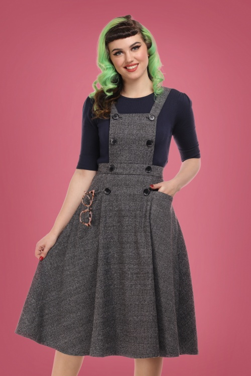 Collectif 29921 brenda librarian swing dress 20190415 020LW