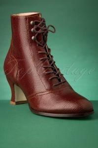 Miss L Fire 29966 Boots Red Alexa Snake 09092019 009W