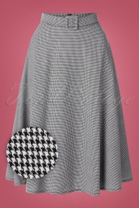 Banned 30562 Houndstooth Swing Skirt 20190626 003W1