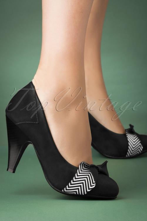 Banned 29246 Shoes Heels Black 20190911 008