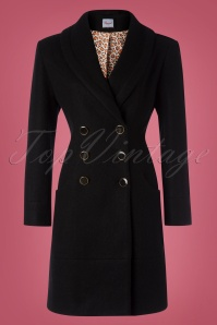 60s Rocking Coat in Black