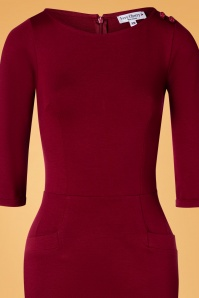 Very Cherry 30773 Pencildress Red 60s Spy 09162019 003V