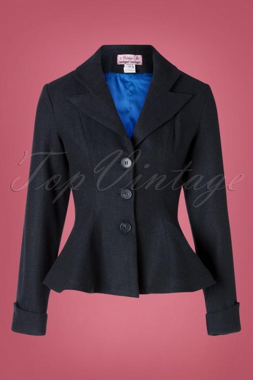 Unique Vintage 31206 Balzer Black Micheline 09162019 002W