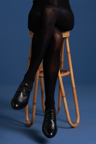 60s Micro Tights in Black