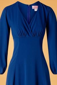 Unique Vintage 31209 Swingdress Blue 09162019 003V