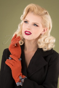 Powder 30768 Betty Gloves Tangerine 041M W