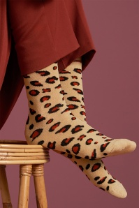 King Louie 60s Perky Socks in Marzipan