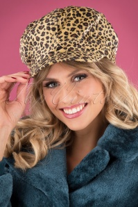 Banned Retro 29223 Hat Olga Leopard 20190912 002W