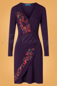 Lien & Giel 29976 BA Pencil Dress in Purple 20190917 002W